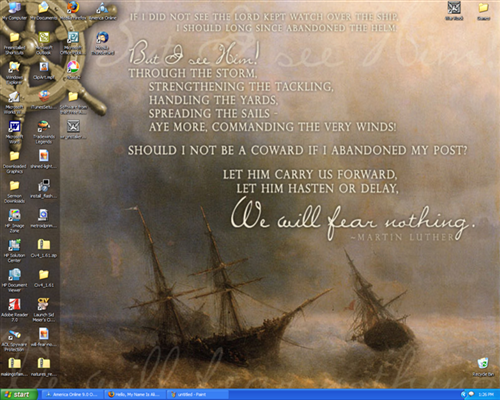 quotes or Scripture) I saw she had some desktop wallpaper, and I loved
