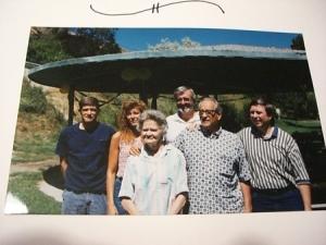 Jim's family at 50th anniversary