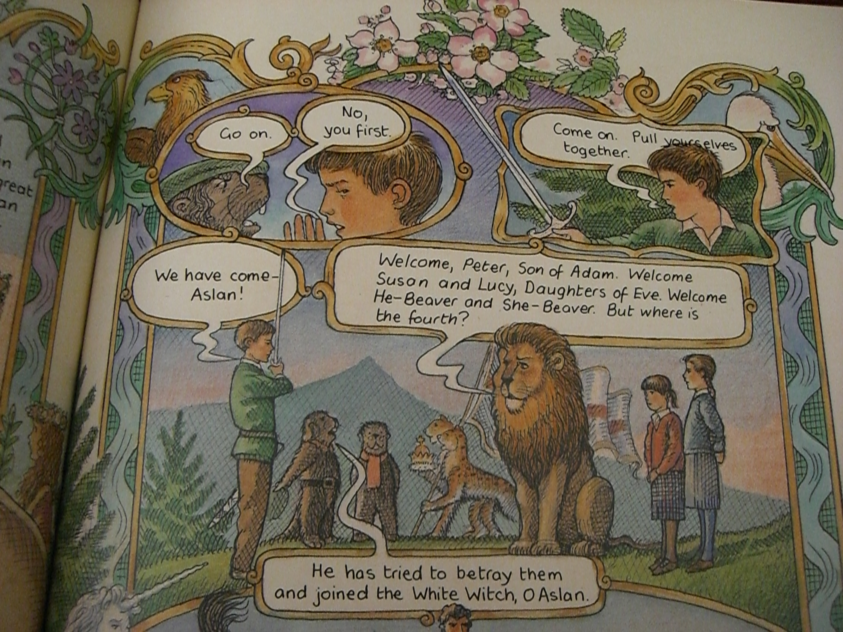 a reading report on the lion the witch and the wardrobe by cs lewis This resource is a 80 page literature unit for c s lewis' novel the lion, the witch and the wardrobe from the chronicles of narnia series it is a digital copy in pdf format.