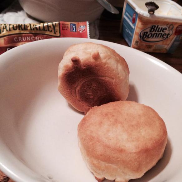Grumpy biscuit