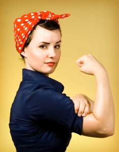 Rosie_The_Riveter_by_Miss_Drea
