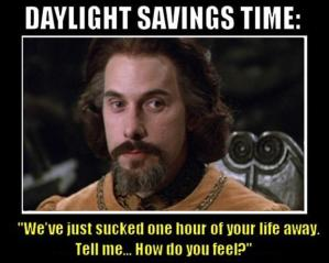 Princess Bide daylight-savings-time