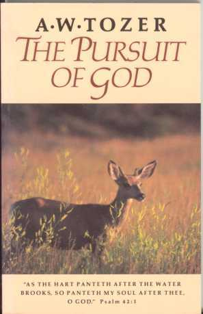 Image result for tozer pursuit of God book