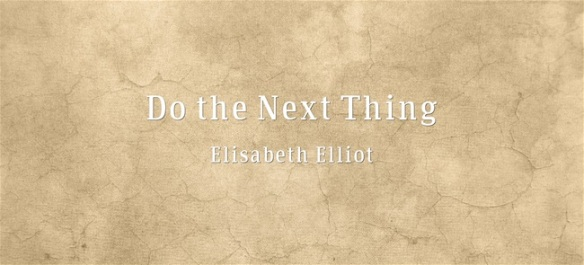 Do-the-Next-Thing