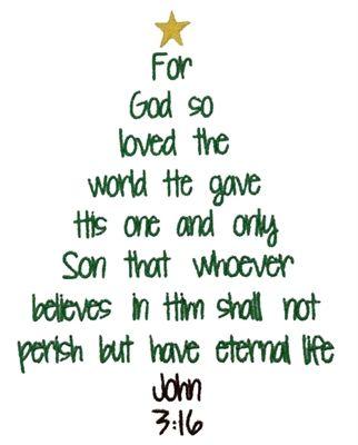 John 3 16 tree