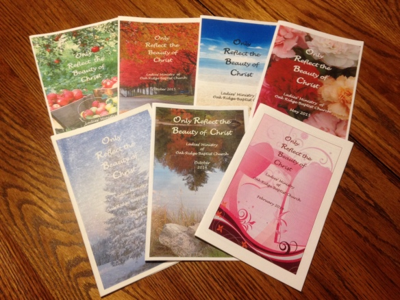 Current ladies booklets