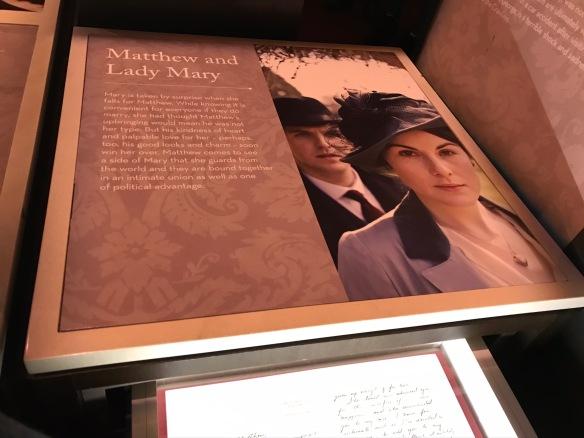Downton Abbey exhibit