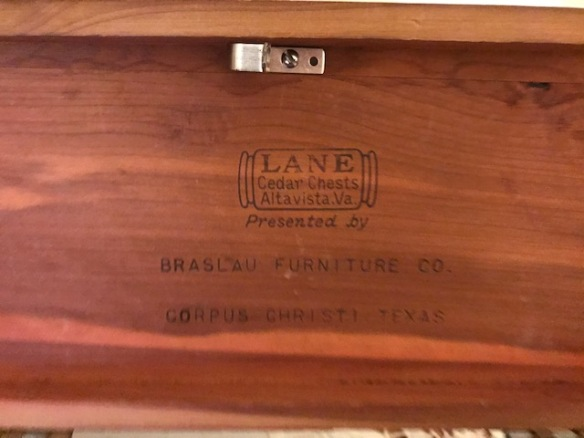 Lane mini cedar box