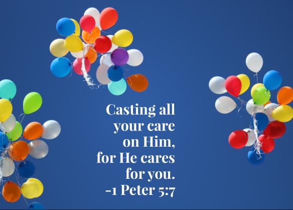 1 Peter 5:7