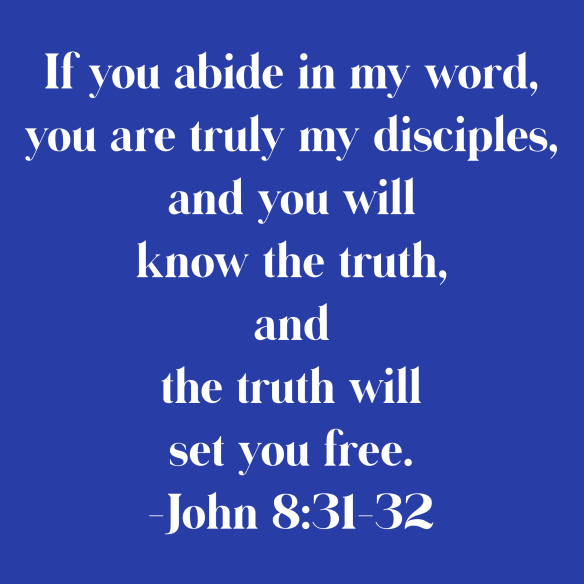 God's truth will set you free