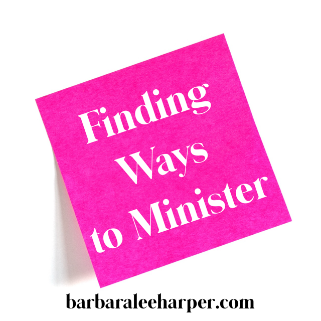 How to find ways to minister