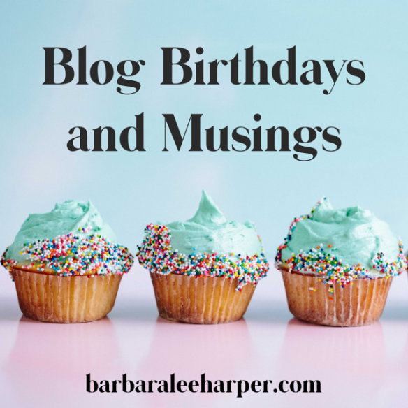 Blog birthday and brand musing